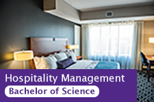 Hospitality Management Bachelor of Science degree option