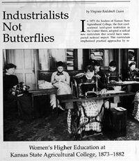 Industrialists Not Butterflies