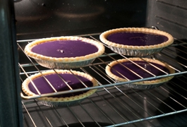 Purple sweet potatoe pies
