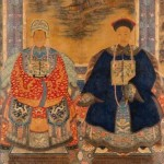 Ancestor portrait from China's Qing dynasty