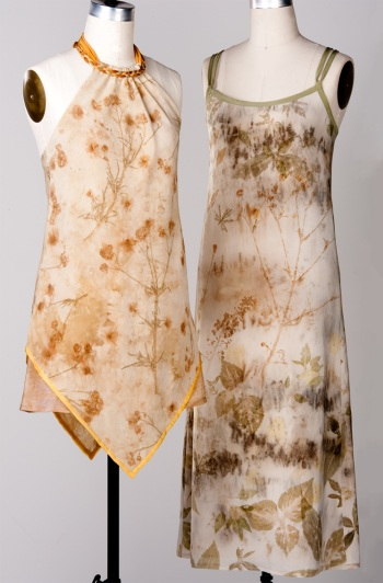 Two Dresses on Forms