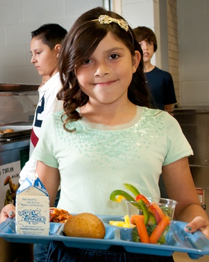 College, state partner to promote healthy eating in children.