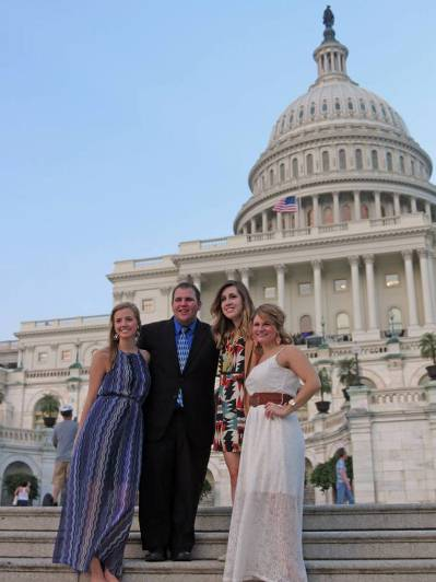 Human Ecology students in Washington, DC