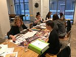 Kansas State University interior design students present design work to Kansas City professionals. The university's interior design program is one of the best in the U.S. in the latest rankings from DesignIntelligence